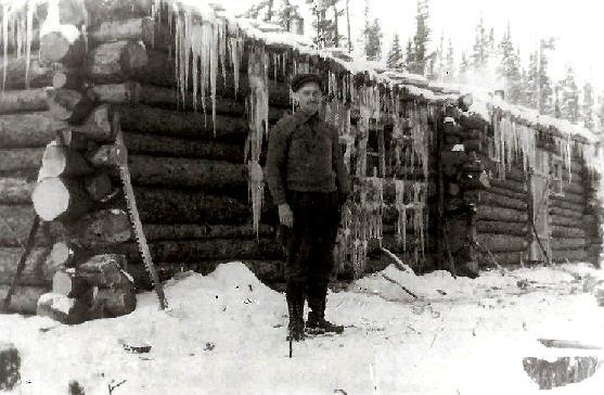 Arsene Dessureault contracteur forestier en 1920