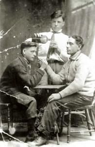 Le tir du poignet entre Alfred Larrivée et les frères Rouleau au rang St-Moise en 1917