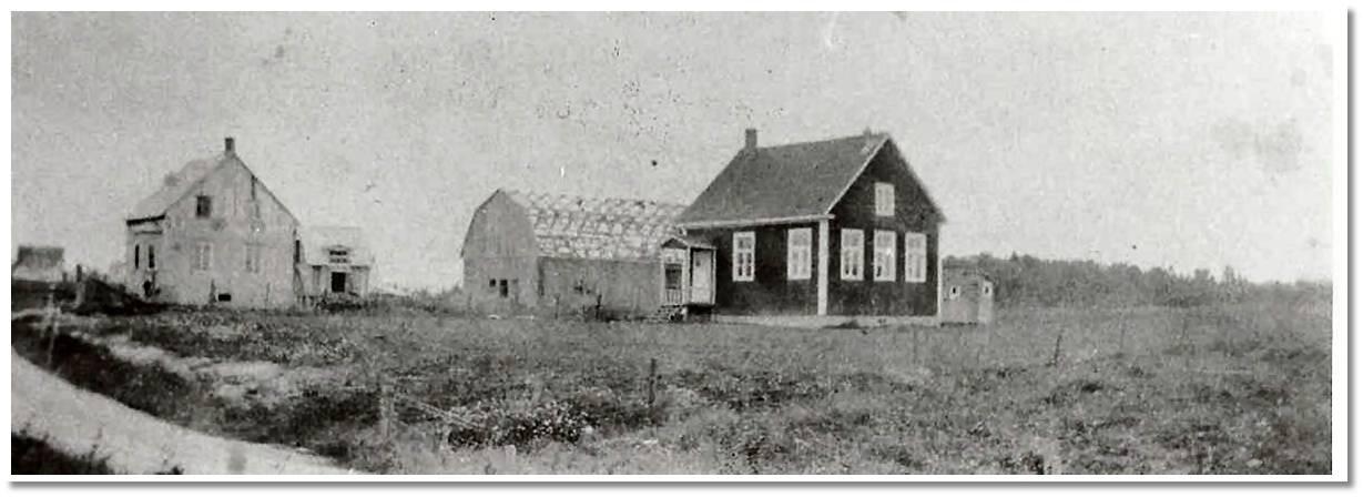 L'école no 4 du rang Sud 1924