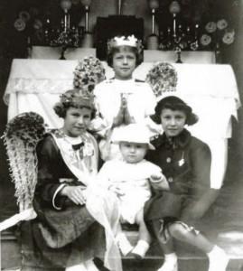 Célébrations de la Fête-Dieu en juin 1953