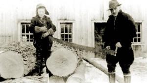 Gérard PellerGérard Pellerin et son fils Normand en 1938 in et son fils Normand en 1938