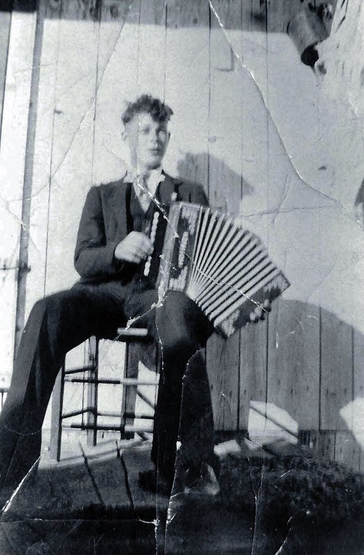 Raphael Léveillé fils d'Arcille en 1935
