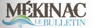 Logo du journal Le Bulletin Mekinac